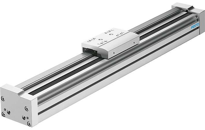 Driveless linear guide unit EGC-FA with freely movable slide unit