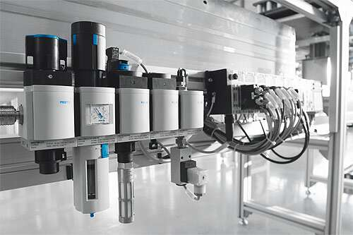 Service unit series MS for air preparation