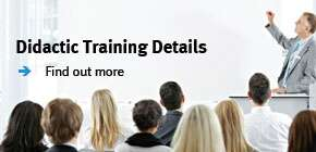 Didactic Training Details