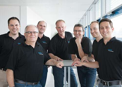 Festo expo team at Valve World 2016