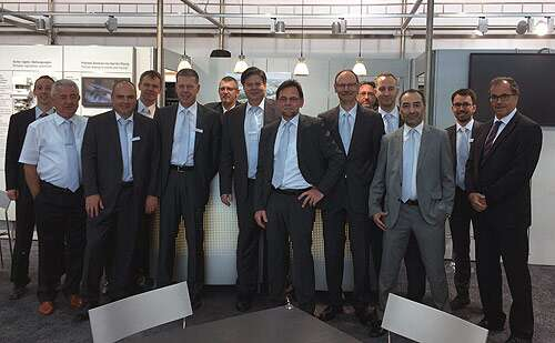 IFAT 2016: team from Festo