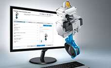 Process industry: configurator for process valves