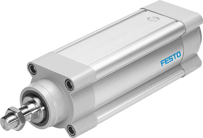 Electric cylinder ESBF with forces of up to 17 kN