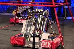 FIRST Robotics competition robot