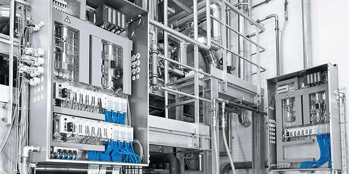 Control cabinet solutions for biotech/pharmaceutical production