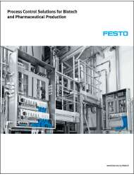 Process control solutions for biotech and pharmaceutical production