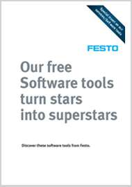 Festo range of core products and their software tools