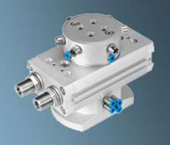 Precise positioning with semi rotary drive - DRRD