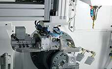 In the machine tool
