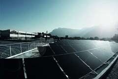 Oerlikon Solar Power Plant