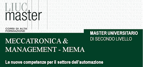 Master in Meccatronica & Management  - MEMA