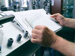 Compressed air quality analysis by Festo