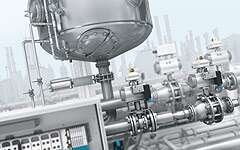 Process valves in the chemical industry