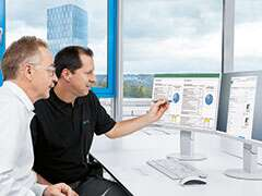 Energy Saving Services Maschinenanalyse