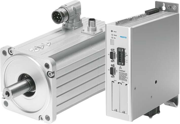 Servo Motor Emms As And Motor Controller Cmmx As Festo