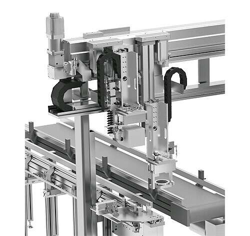 Stopping, gripping and clamping workpieces