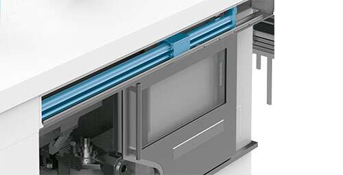 Automating doors electrically and pneumatically