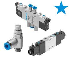 Stars in pneumatics: valves and valve terminals
