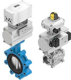 Automate process valves with the DFPD