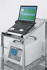 Cleanroom: visual particle counter for qualification measurement