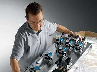 Ready-to-install solutions from Festo