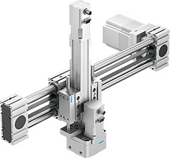 Multi-axis solutions with Optimised Motion Series